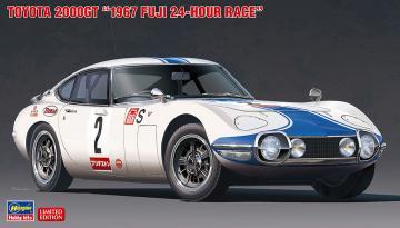 Toyota 2000GT, 1967 Fuji 24 Hours race · HG 620464 ·  Hasegawa · 1:24