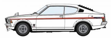 Mitsubishi Galant GTO 200GSR · HG 620475 ·  Hasegawa · 1:24