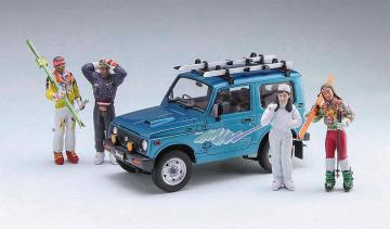 Suzuki Jimmy Ski Version · HG 620476 ·  Hasegawa · 1:24