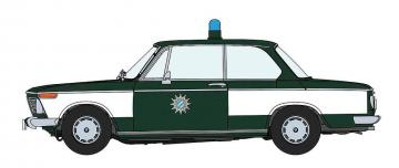 BMW 2002ti, Polizei · HG 620478 ·  Hasegawa · 1:24