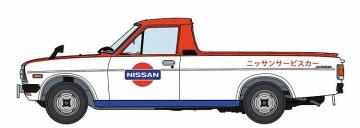 Datsun Sunny Truck, Lange Version, Nissan Service Car · HG 620482 ·  Hasegawa · 1:24