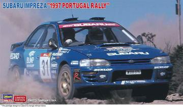 Subaru Impreza, 1997 Portugal Rally · HG 620483 ·  Hasegawa · 1:24