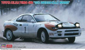 Toyota Celica Turbo 4WD, 1993 Swedish Rally · HG 620484 ·  Hasegawa · 1:24