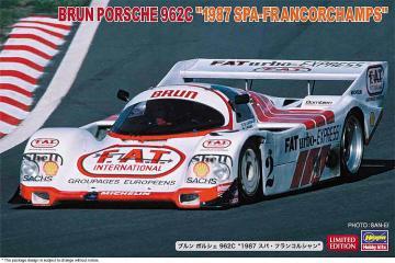 Brun Porsche 962C, 1987 SPA Francorchamps · HG 620503 ·  Hasegawa · 1:24