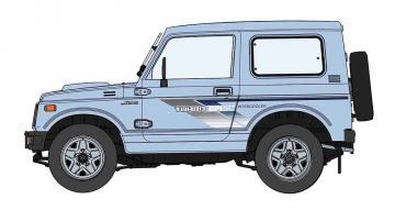 Suzuki Jimmy mit Front-Grill · HG 620509 ·  Hasegawa · 1:24