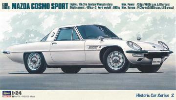 Mazda Cosmo Sport L108 · HG 621102 ·  Hasegawa · 1:24