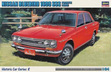 Nissan Bluebird 1600 SSS,1969 · HG 621108 ·  Hasegawa · 1:24