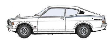 Mitsubishi Galant GTO2000 GSR, frühe Version · HG 621130 ·  Hasegawa · 1:24