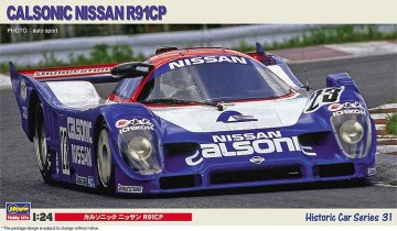 Calsonic Nissan R91CP · HG 621131 ·  Hasegawa · 1:24