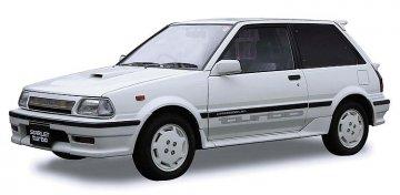 Toyota Starlet EP 71 Turbo S (3-Türer) · HG 621132 ·  Hasegawa · 1:24