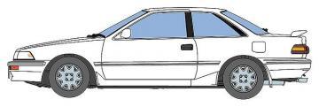 Toyota Corolla Levin EA9GT Apex · HG 621136 ·  Hasegawa · 1:3