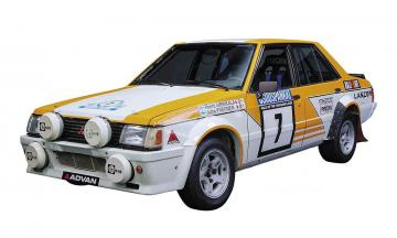 Mitsubishi Lancer EX 2000 Turbo, 1982er 1000 Lakes Rally · HG 621138 ·  Hasegawa · 1:24