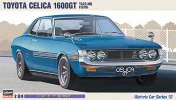 Toyota Celica 1600 GT · HG 621142 ·  Hasegawa · 1:24
