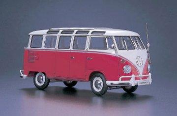 Volkswagen Type2 Micro Bus (1963) 23-Window · HG 621210 ·  Hasegawa · 1:24