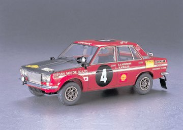 Nissan Bluebird 1600 SSS1970 Ost-Afrika-Rally · HG 621266 ·  Hasegawa · 1:24