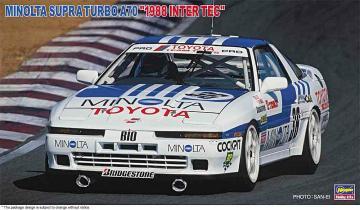 Minolta Supra Turbo A70, 1988 Inter Tec · HG 621342 ·  Hasegawa · 1:24