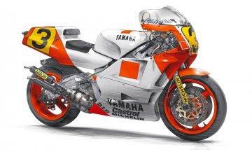 Yamaha YZR500 (OW98) 1988 WGP500 Champion. · HG 621503 ·  Hasegawa · 1:12