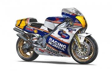 Honda NSR 500 1989 WGP500 Champion · HG 621504 ·  Hasegawa · 1:12