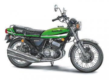 Kawasaki KH400-A7 · HG 621506 ·  Hasegawa · 1:12