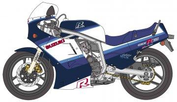 Suzuki GSX-R750 · HG 621507 ·  Hasegawa · 1:12