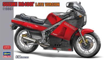 Suzuki RG400I, späte Version · HG 621728 ·  Hasegawa · 1:12