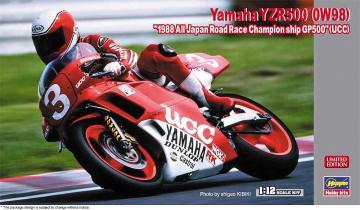 Yamaha YZR500, 0W98, All Japan Race Champions. GP500 · HG 621734 ·  Hasegawa · 1:12