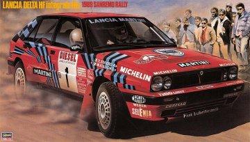 Lancia Delta HF integrale, 16V, Rally San Remo · HG 625008 ·  Hasegawa · 1:24