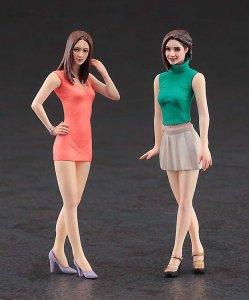 Fashion Girls, 2 Bausätze · HG 629104 ·  Hasegawa · 1:24