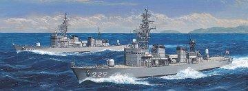 JMSDF Abukuma & Jintsu,2 Bausätze · HG 630061 ·  Hasegawa · 1:700