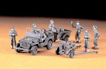 U.S. Jeep + Cargo + 37 mm Gun · HG 631101 ·  Hasegawa · 1:72