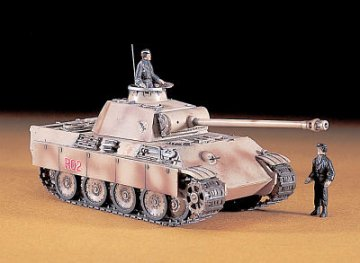 Panther G PzKpfw. V · HG 631109 ·  Hasegawa · 1:72