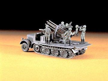 8ton HT 20 mm A.A.Gun · HG 631114 ·  Hasegawa · 1:72