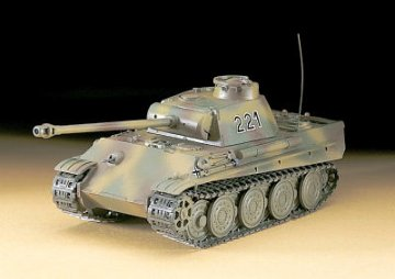 PzKpfw. V Panther G (Steel W.) · HG 631137 ·  Hasegawa · 1:72
