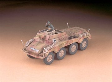 SdKfz. 234/3 8-Rad, Schwerer Panzerspaehwagen, Stummel · HG 631154 ·  Hasegawa · 1:72