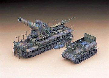 54 cm Moerser Karl 04 · HG 631156 ·  Hasegawa · 1:72