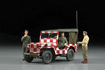 Follow me Jeep Willys MB · HG 636011 ·  Hasegawa · 1:48