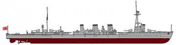 IJN Tenryu, Full Hull · HG 643172 ·  Hasegawa · 1:700