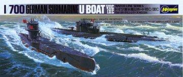 WL Submarine 7C/9C · HG 644901 ·  Hasegawa · 1:700