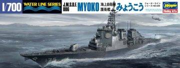 J.M.S.D.F. DDG Myoko · HG 649029 ·  Hasegawa · 1:700