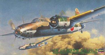 Nakajima KI 49II Koh, Type 100, Helen · HG 651212 ·  Hasegawa · 1:72