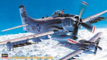 A-1H Skyraider · HG 651464 ·  Hasegawa · 1:72