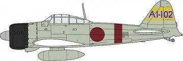 Zero Fighter 21 & 99 & 97, 3 Kits · HG 652148 ·  Hasegawa · 1:48