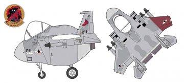 EGG PLANE F15C Eagle Ace Combat Galm 2 · HG 652154 ·  Hasegawa