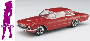 1966er American Coupe mit Frau · HG 652241 ·  Hasegawa · 1:24