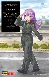 EGG Girls Collection No. 10, Claire Frost Pilot Suit · HG 652263 ·  Hasegawa · 1:12