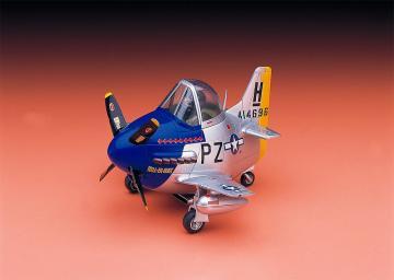 EGG PLANE P-51 Mustang · HG 660117 ·  Hasegawa