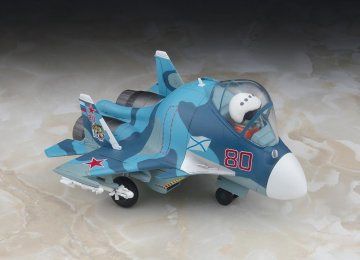 EGG PLANE Su-33 Flanker D · HG 660131 ·  Hasegawa