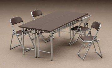 Meeting Room Desk & Chair · HG 662002 ·  Hasegawa · 1:12