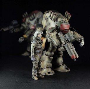Maschinen Krieger - Robot Battle V FME · HG 664007 ·  Hasegawa · 1:20
