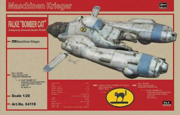 Pkf 85 Falke, bomber cat, mit Aufnäher · HG 664119 ·  Hasegawa · 1:20